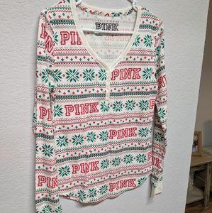 PINK Thermal shirt